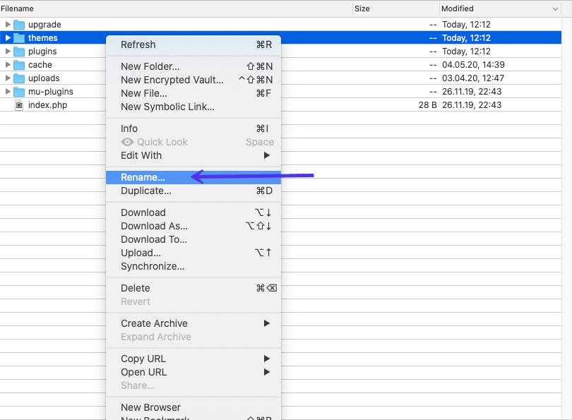 WSoD: theme folder