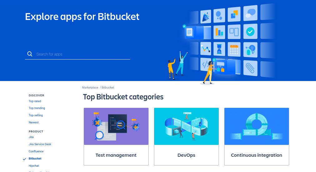 bitbucket apps