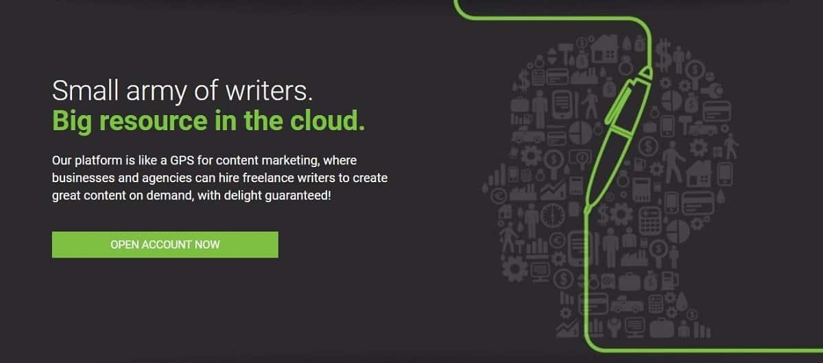 Лучшие Сайты для Фриланса - Снимок из Сайта Writer Access