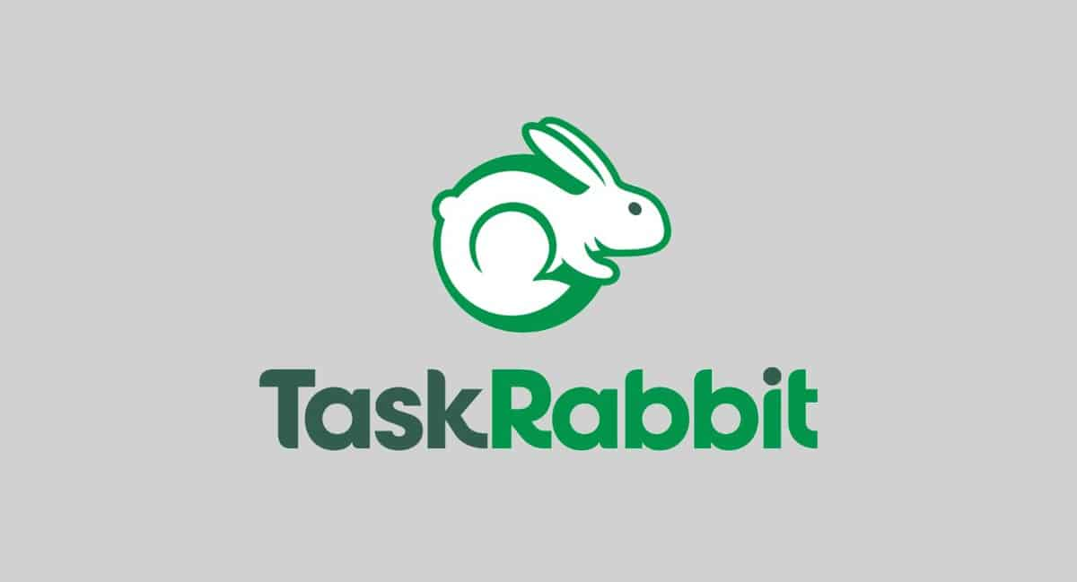 """Топ Бирж Фриланса - Логотип TaskRabbit """"Кролик"""""""