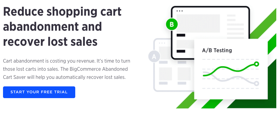 BigCommerce - Cart abandonment emails
