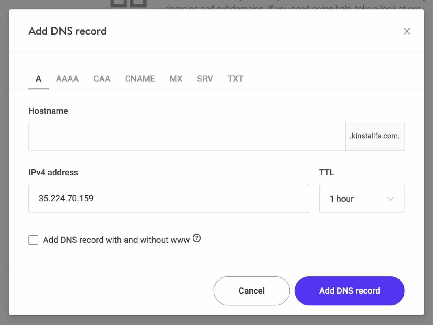 Reduce the load time of your website by setting your DNS TTL.
