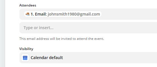 اضافه کردن فیلد ادرس ایمیل رزرو کننده