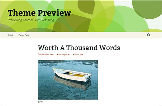 Holi - A WordPress child theme based on Twenty Thirteen