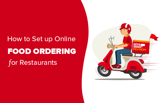 Setting up online food ordering for restaurants
