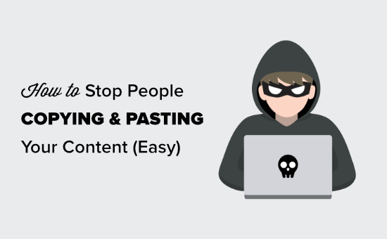 Preventing text selection and copying & pasting in WordPress