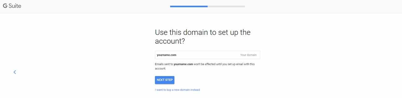 g suite signup domain name 2