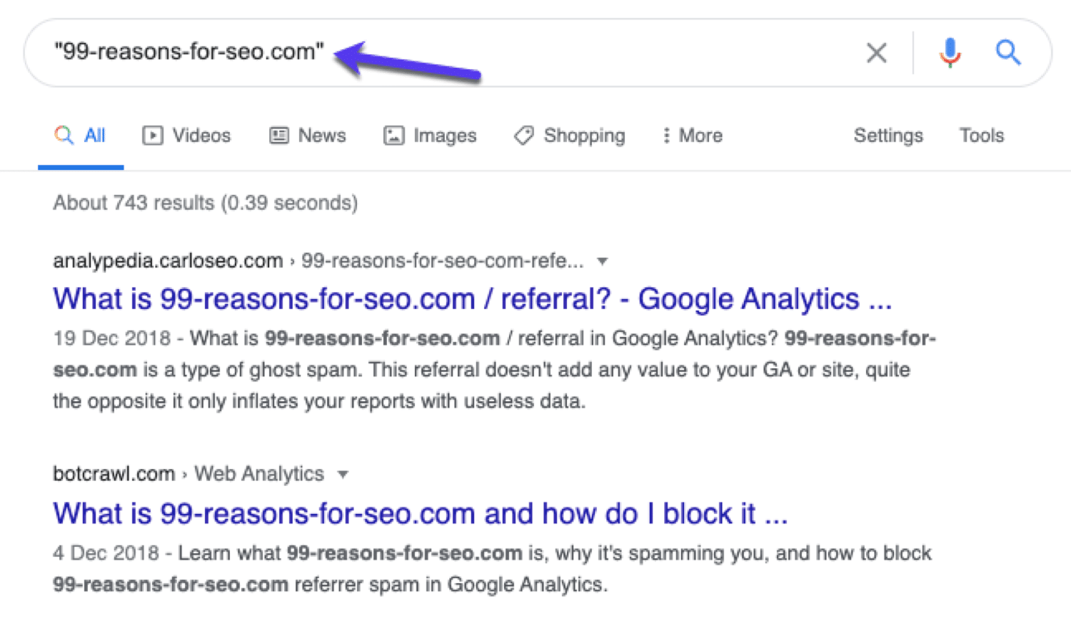 Search for spam referrer sites in Google to see if others sites have flagged them before