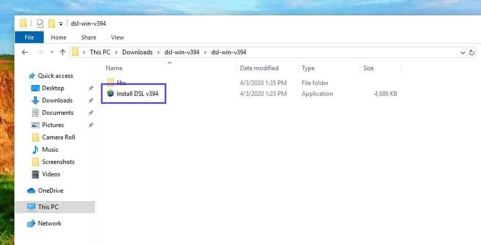 desktop server installer