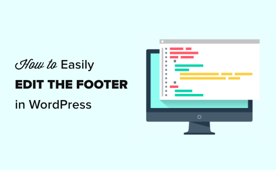 Editing your footer in WordPress