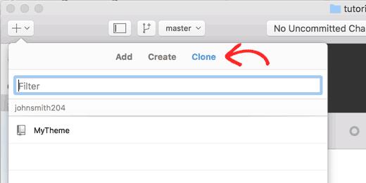 Clone repositories