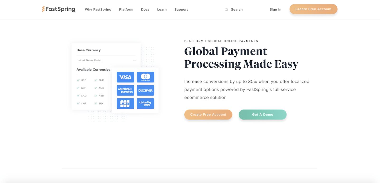 PayPal Alternative FastSpring