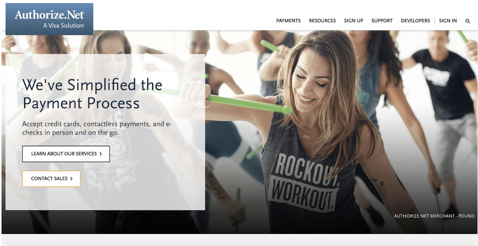 PayPal Alternative Authorize Net