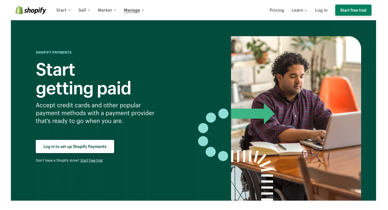 Shopify Payments - PayPal alternative
