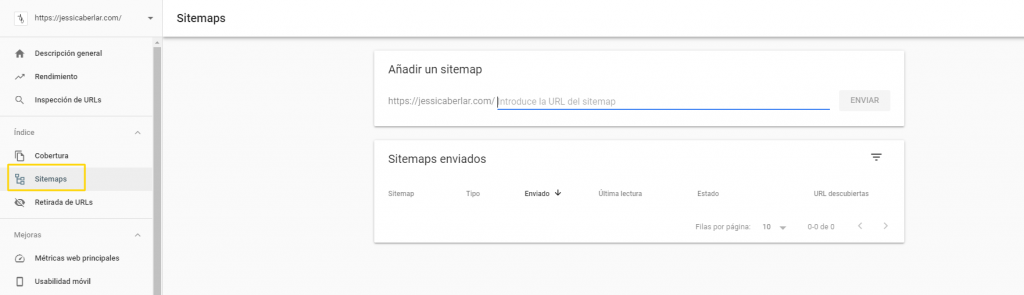 sitemap-google-search-console
