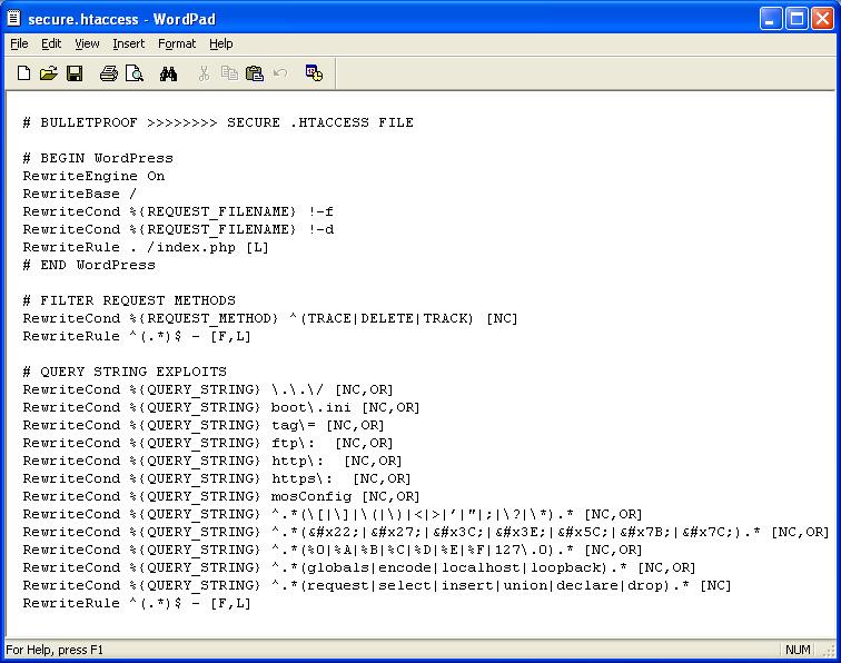 wordpress-secure-htaccess