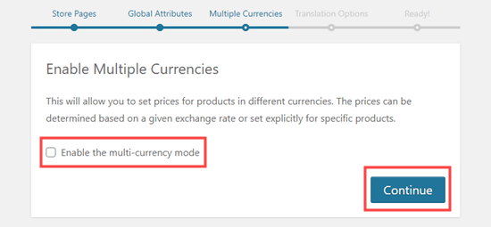 Enabling multicurrency options for WooCommerce