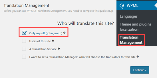 Choosing who will translate your content